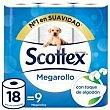 Papel higiénico Paquete 9 rollos Scottex