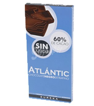 Atlantic Chocolate fondant sin azucar atlantic 150 g