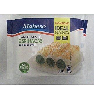 Maheso Canelones espinacas-bech 300 GRS
