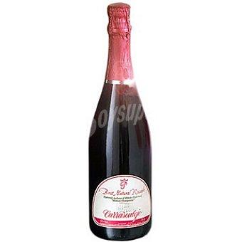 CARRASCALEJO Vino espumoso rosado brut nature Botella 75 cl