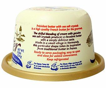 Président Mantequilla la motte con granos de sal de mar 250 g