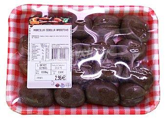 Embutidos Martinez Morcilla cebolla fresca Bandeja 500 g peso aprox.