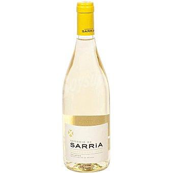 Señorio de Sarria Vino blanco chardonnay D.O. Navarra Botella 75 cl
