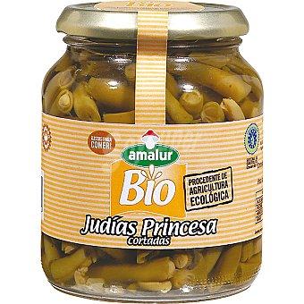 Amalur Judías verdes Princesa cortadas ecológicas frasco 185 g neto escurrido Frasco 185 g neto escurrido