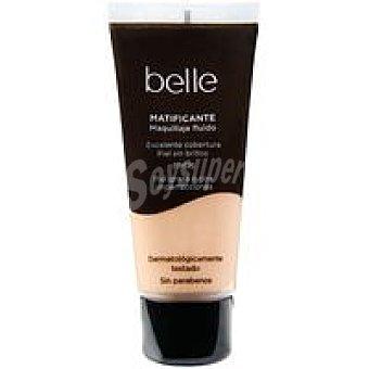 belle & MAKE-UP Maquillaje Fluido Matificante 03 1 unidad