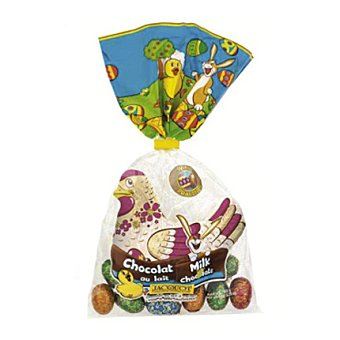 Bolsa Gallina y huevos chocolate 150 g
