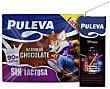 Batido de chocolate Puleva sin lactosa Pack de 6 briks de 200 ml Puleva