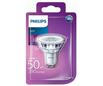 Philips Foco led spot de 4.6 Watios, con casquillo GU10 y luz fría philips