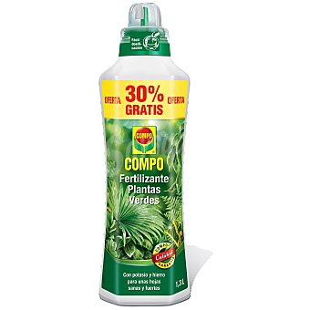 Compo Fertilizante liquido plantas verdes 1 l