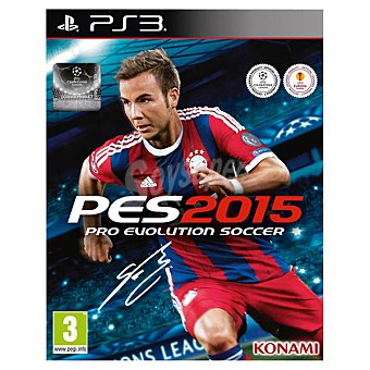 PS3 Videojuego PES 2015 para PS3