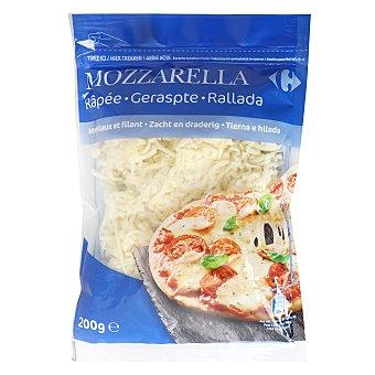 Carrefour Mozzarella rallada 200 g