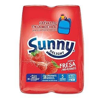 Sunny Delight Refresco de naranja y fresa 4 unidades de 20 cl
