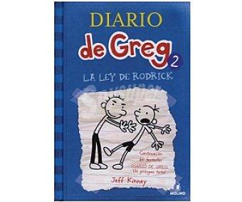 INFANTIL JUVENIL Diario de Greg 2: La Ley de Rodrick, jeff kinney, género: infantil, editorial: Molino. Descuento ya incluido en pvp. PVP anterior: 2: La ..