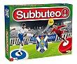 Fútbol de mesa edición CD Tenerife 2018 con dos equipos, 2 jugadores, SUBBUTEO.  Subbuteo