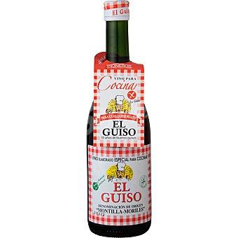 El Guiso Vino oloroso especial para cocinar D.O. Montilla Moriles Botella 75 cl