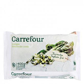 Carrefour Acelgas en hoja 400 G 400 g