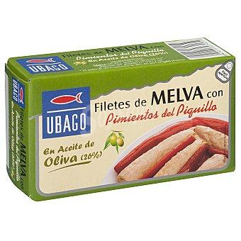 Ubago Filete melva pimientos del piquillo en aceite de oliva 85 g