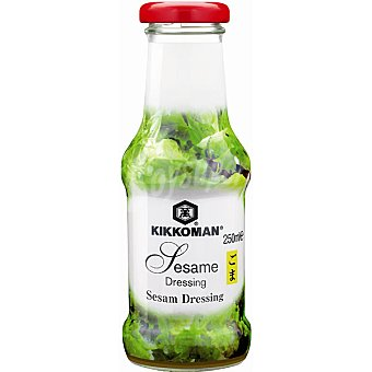 KIKKOMAN aderezo de sésamo para ensaladas botella 250 ml
