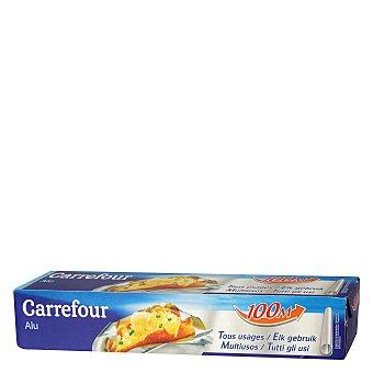 Carrefour Papel de aluminio 100 metros 1 ud