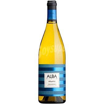 ALBA MARTIN Vino blanco albariño D.O. Rías Baixas Botella 75 cl