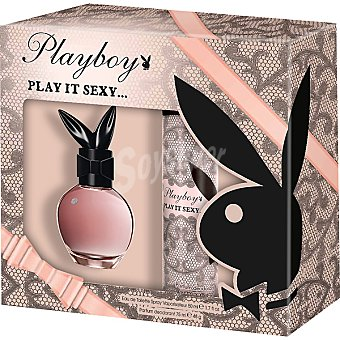 Playboy Fragrances Eau de toilette femenina Sexy vaporizador 50 ml + desodorante perfumado spray 75 ml 50 ml