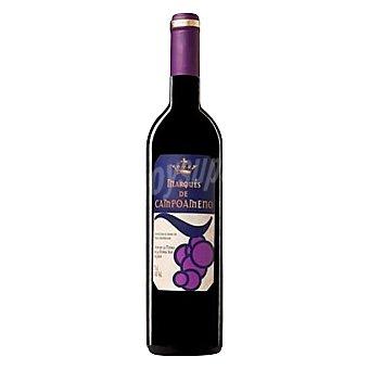 Marqués de Campoameno Vino tinto envejecido 12 meses barrica 75 cl
