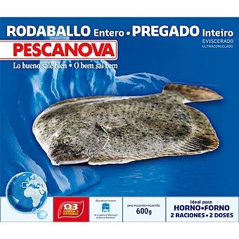 Pescanova Rodaballo entero ideal para horno 2 raciones estuche 600 g neto escurrido Estuche 600 g neto escurrido