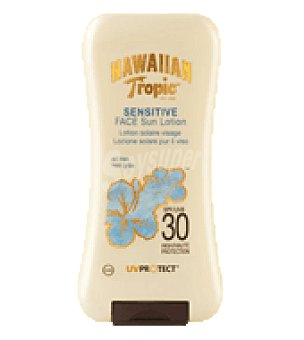 Hawaiian Tropic Loción facial spf 30 120 ml