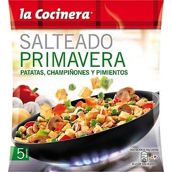 La Cocinera Salteado Primavera de patatas, champiñón y pimientos 500 g