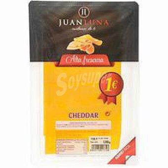 J.LUNA Lonchas queso Cheddar 90g