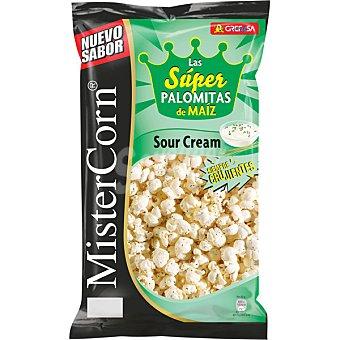 MisterCorn Grefusa Super palomitas de maíz Sour Cream Bolsa 90 g