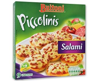 Buitoni Piccolinis de salami 270 Gramos