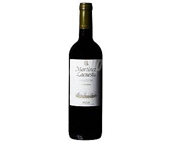 Martínez Lacuesta Vino tinto crianza con denominación de origen calificada martinez lacuesta Botella de 75 cl