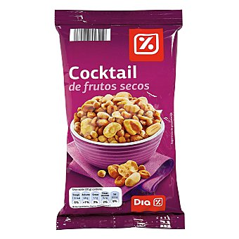 DIA Cocktail salado frutos secos Bolsa 200 gr