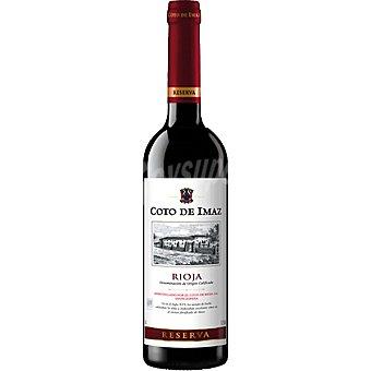 Coto de Imaz Vino tinto reserva D.O. Rioja Botella 50 cl