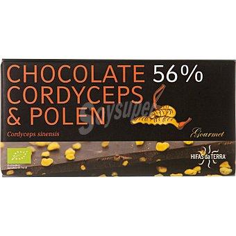 HIFAS DA TERRA Chocolate con polen y Cordyceps en polvo ecológico Envase 100 g