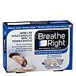 Tiras nasales clásicas tamaño grande 10 ud Breathe Right