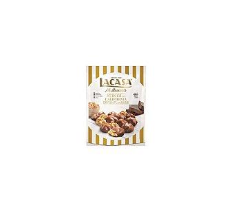 Lacasa Mi Momento nueces de California con chocolate con leche sin gluten y sin aceite de palma Bolsa 115 g