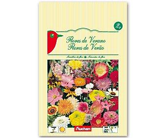 Auchan Semillas para plantar flores de verano de diferentes variedades 2 Gramos