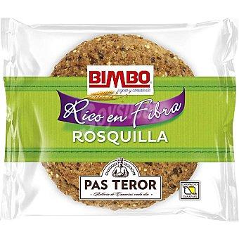 BIMBO rosquilla integral rica en fibra  paquete 55 g
