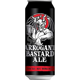 Stone Brewing CO Cerveza rubia Arrogant Bastard de USA Lata 47 cl