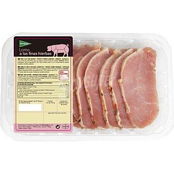 El Corte Inglés Lomo fresco extra de cerdo a las finas hierbas peso aproximado Bandeja 500 g