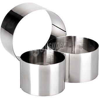IBILI Aros de emplatar en acero inoxidable set de 3 unidades