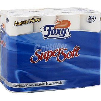 Foxy Papel higiénico Supersoft Paquete 26 rollos