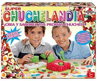 Educa Juego fábrica de chuches y gominolas Nuevo Super Chcuchelandia borrás Superchuchelandia