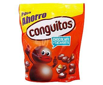 Conguitos Lacasa Cacahuetes recubiertos de chocolate con leche pack ahorro Bolsa 350 g