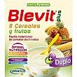 Plus Duplo papilla instantanea de 8 cereales y frutas desde los 5 meses caja 600 g 600 g Blevit