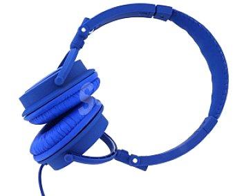 QILIVE DJ TM1139 Auriculares tipo Casco Azul, con cable