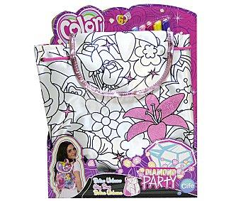 CIFE Color Me Mine Diamond Party Bolso Urbano 1 Unidad