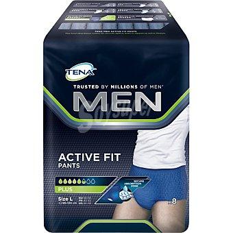 Tena Lady Men Active Fit Pants calzoncillo incontinencia talla grande bolsa 8 unidades bolsa 8 unidades